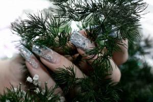 Дизайн ногтей к празднику